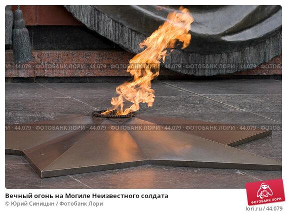 Вечный огонь на Могиле Неизвестного солдата, фото № 44079, снято 25 апреля 2007 г. (c) Юрий Синицын / Фотобанк Лори