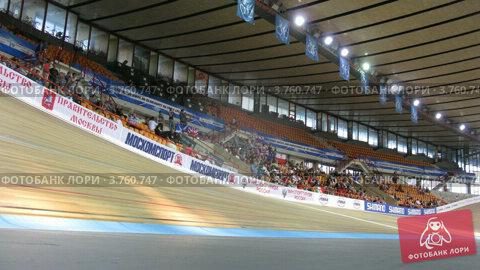 Купить «Велодром(таймлапс)», видеоролик № 3760747, снято 4 октября 2011 г. (c) Losevsky Pavel / Фотобанк Лори