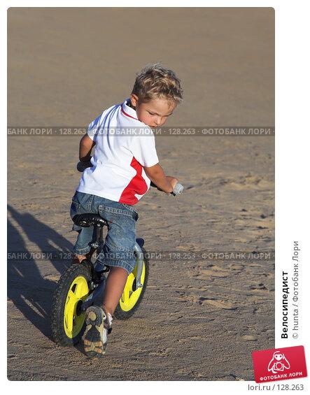 Велосипедист, фото № 128263, снято 21 сентября 2007 г. (c) hunta / Фотобанк Лори