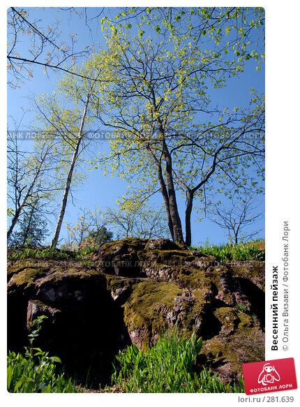 Купить «Весенний пейзаж», эксклюзивное фото № 281639, снято 11 мая 2008 г. (c) Ольга Визави / Фотобанк Лори