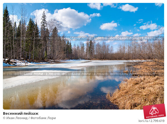 Купить «Весенний пейзаж», фото № 2799619, снято 20 апреля 2011 г. (c) Икан Леонид / Фотобанк Лори