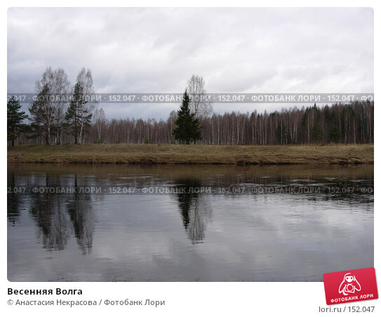 Купить «Весенняя Волга», фото № 152047, снято 1 мая 2005 г. (c) Анастасия Некрасова / Фотобанк Лори