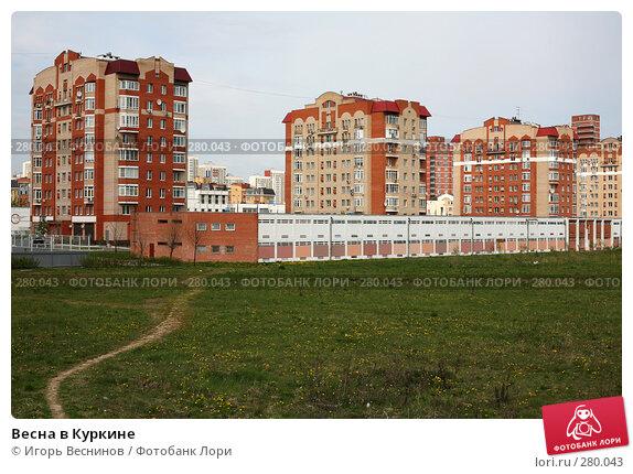 Весна в Куркине, фото № 280043, снято 10 мая 2008 г. (c) Игорь Веснинов / Фотобанк Лори