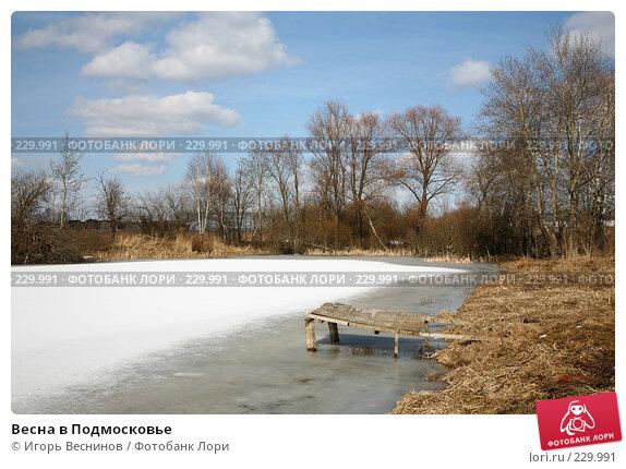 Весна в Подмосковье, фото № 229991, снято 22 марта 2008 г. (c) Игорь Веснинов / Фотобанк Лори