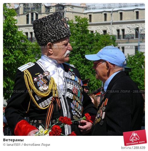 Ветераны, эксклюзивное фото № 288639, снято 8 мая 2008 г. (c) lana1501 / Фотобанк Лори