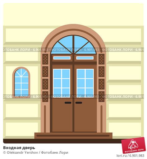 входные двери в здания детского сада