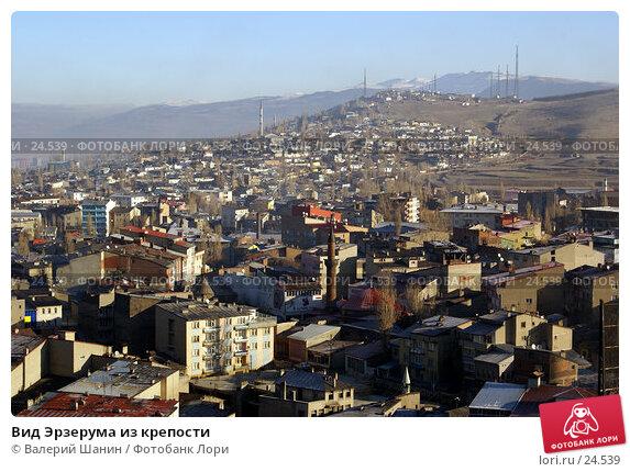 Вид Эрзерума из крепости, фото № 24539, снято 3 декабря 2006 г. (c) Валерий Шанин / Фотобанк Лори