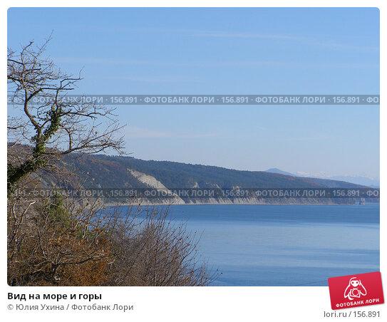 Вид на море и горы, фото № 156891, снято 25 ноября 2007 г. (c) Юлия Ухина / Фотобанк Лори