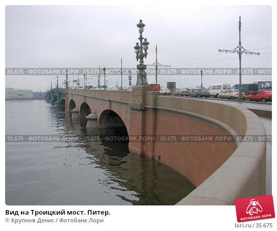 Вид на Троицкий мост. Питер., фото № 35675, снято 16 ноября 2006 г. (c) Крупнов Денис / Фотобанк Лори