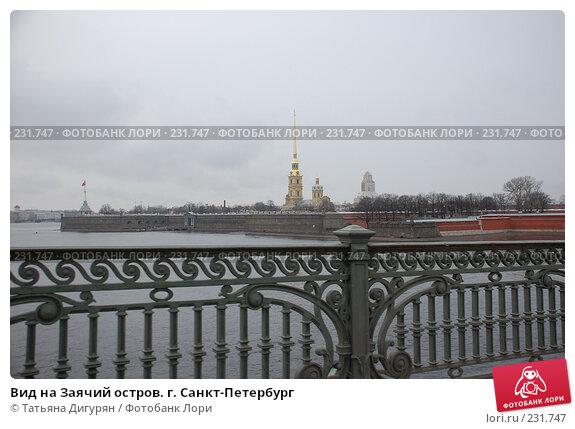 Вид на Заячий остров. г. Санкт-Петербург, фото № 231747, снято 15 марта 2008 г. (c) Татьяна Дигурян / Фотобанк Лори