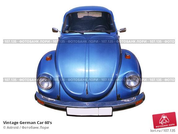 Vintage German Car 60's, фото № 107135, снято 7 декабря 2016 г. (c) Astroid / Фотобанк Лори