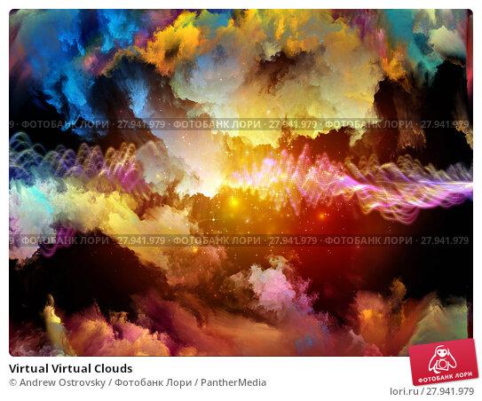 Купить «Virtual Virtual Clouds», фото № 27941979, снято 18 февраля 2019 г. (c) PantherMedia / Фотобанк Лори