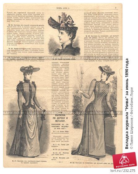 """Вкладка журнала """"Нива"""" за июнь 1890 года, иллюстрация № 232275 (c) Павел Широков / Фотобанк Лори"""