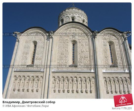Владимир, Дмитровский собор, фото № 170231, снято 20 августа 2006 г. (c) ИВА Афонская / Фотобанк Лори