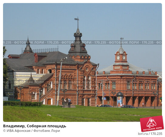 Владимир, Соборная площадь, фото № 170235, снято 20 августа 2006 г. (c) ИВА Афонская / Фотобанк Лори