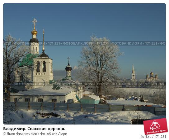 Владимир. Спасская церковь, фото № 171231, снято 8 января 2008 г. (c) Яков Филимонов / Фотобанк Лори