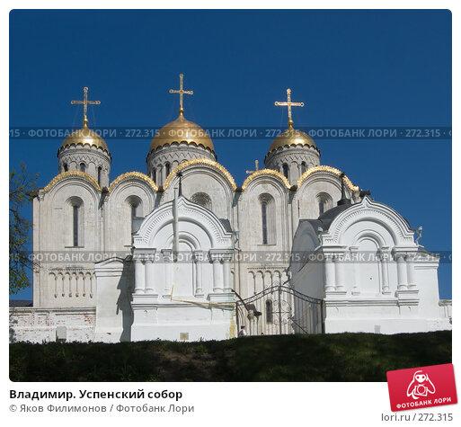 Владимир. Успенский собор, фото № 272315, снято 4 мая 2008 г. (c) Яков Филимонов / Фотобанк Лори