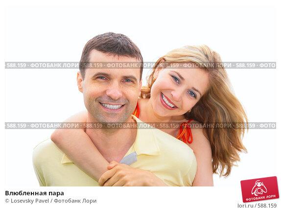 Купить «Влюбленная пара», фото № 588159, снято 17 сентября 2018 г. (c) Losevsky Pavel / Фотобанк Лори