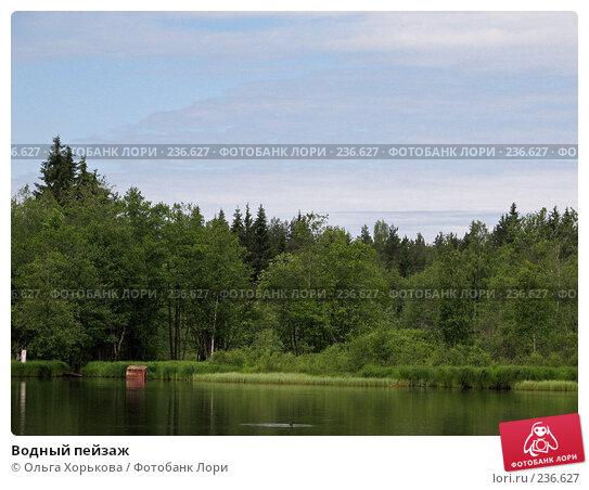 Водный пейзаж, фото № 236627, снято 11 июня 2007 г. (c) Ольга Хорькова / Фотобанк Лори