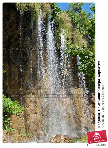 Водопад, Плитвицкие озера, Хорватия, фото № 84815, снято 15 июля 2007 г. (c) Golden_Tulip / Фотобанк Лори