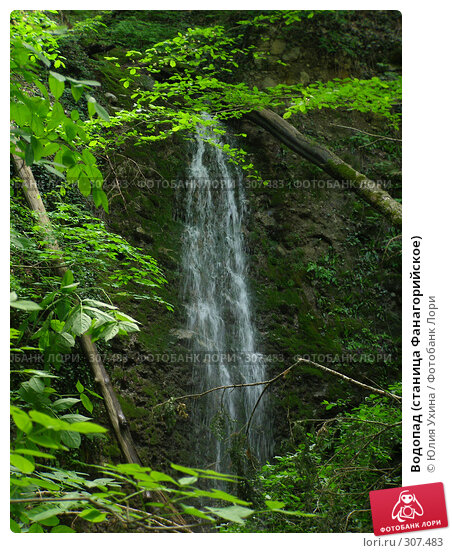 Водопад (станица Фанагорийское), фото № 307483, снято 9 мая 2008 г. (c) Юлия Ухина / Фотобанк Лори
