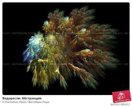 Купить «Водоросли. Абстракция.», иллюстрация № 245611 (c) Parmenov Pavel / Фотобанк Лори