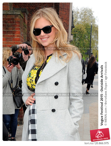 Купить «Vogue Festival 2015 - Outside Arrivals Featuring: Kate Upton Where: London, United Kingdom When: 26 Apr 2015 Credit: WENN.com», фото № 20866975, снято 26 апреля 2015 г. (c) age Fotostock / Фотобанк Лори