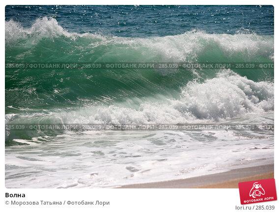 Волна, фото № 285039, снято 21 апреля 2008 г. (c) Морозова Татьяна / Фотобанк Лори