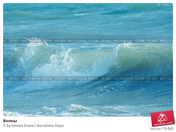 Купить «Волны», фото № 79563, снято 30 августа 2007 г. (c) Бутинова Елена / Фотобанк Лори