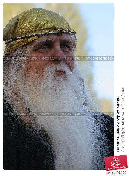 Волшебник смотрит вдаль, фото № 4279, снято 8 мая 2006 г. (c) Ирина Терентьева / Фотобанк Лори