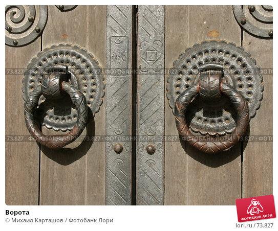 Купить «Ворота», эксклюзивное фото № 73827, снято 30 июля 2007 г. (c) Михаил Карташов / Фотобанк Лори