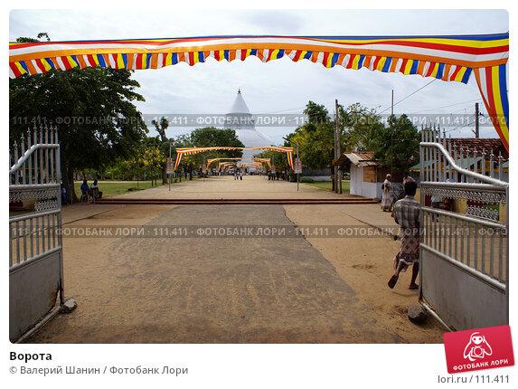 Ворота, фото № 111411, снято 16 июня 2007 г. (c) Валерий Шанин / Фотобанк Лори
