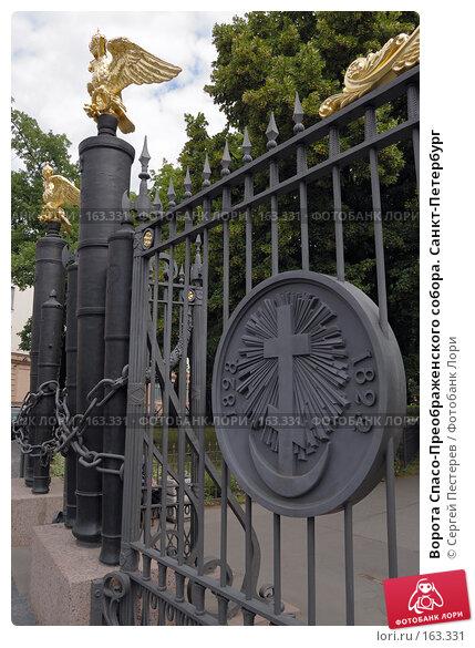 Ворота Спасо-Преображенского собора. Санкт-Петербург, фото № 163331, снято 9 июля 2007 г. (c) Сергей Пестерев / Фотобанк Лори