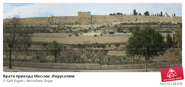 Врата прихода Мессии. Иерусалим, фото № 24575, снято 29 мая 2017 г. (c) Gaft Eugen / Фотобанк Лори