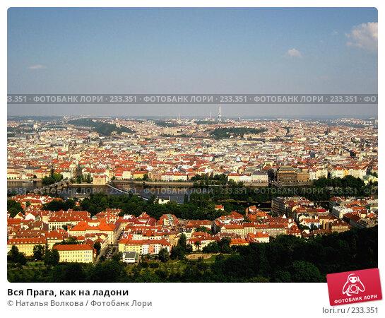 Вся Прага, как на ладони, эксклюзивное фото № 233351, снято 19 мая 2007 г. (c) Наталья Волкова / Фотобанк Лори
