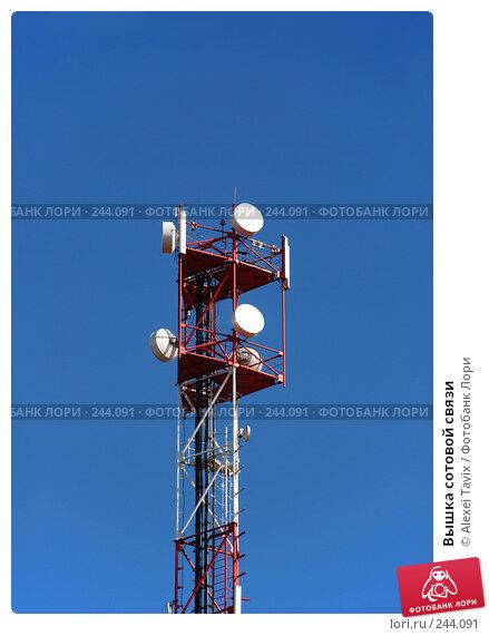 Вышка сотовой связи, эксклюзивное фото № 244091, снято 30 марта 2008 г. (c) Alexei Tavix / Фотобанк Лори