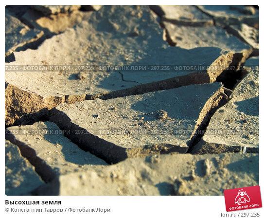 Высохшая земля, фото № 297235, снято 28 июня 2006 г. (c) Константин Тавров / Фотобанк Лори