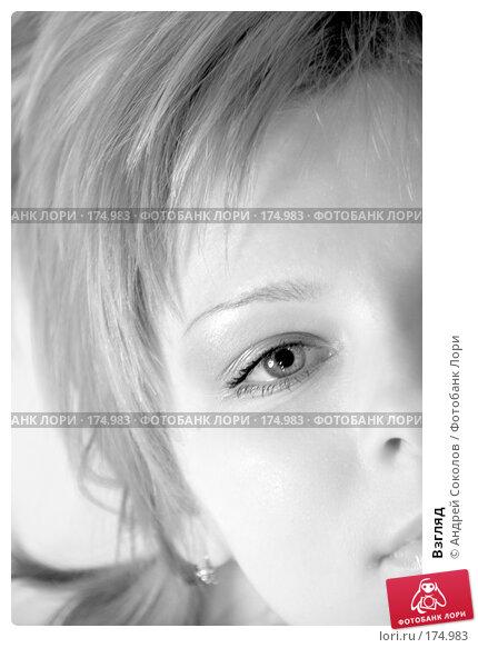 Купить «Взгляд», фото № 174983, снято 13 декабря 2017 г. (c) Андрей Соколов / Фотобанк Лори