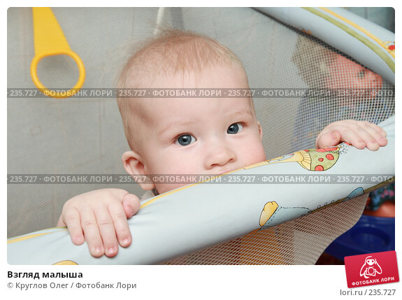 Купить «Взгляд малыша», фото № 235727, снято 26 марта 2008 г. (c) Круглов Олег / Фотобанк Лори