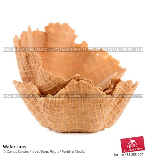 Купить «Wafer cups», фото № 33255927, снято 5 июля 2020 г. (c) PantherMedia / Фотобанк Лори