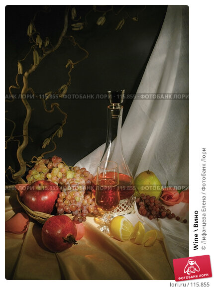 Купить «Wine \ Вино», фото № 115855, снято 12 ноября 2007 г. (c) Лифанцева Елена / Фотобанк Лори
