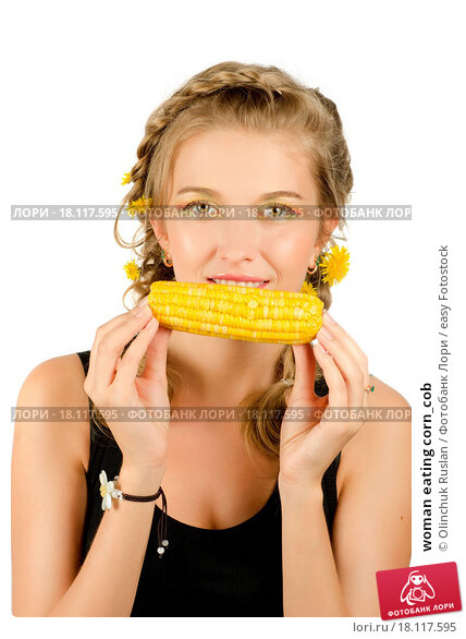 Секс фото красотки с кукурузой