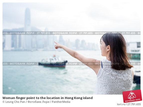 Купить «Woman finger point to the location in Hong Kong island», фото № 27791655, снято 18 октября 2018 г. (c) PantherMedia / Фотобанк Лори