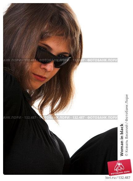 Woman in black, фото № 132487, снято 19 июля 2007 г. (c) Коваль Василий / Фотобанк Лори
