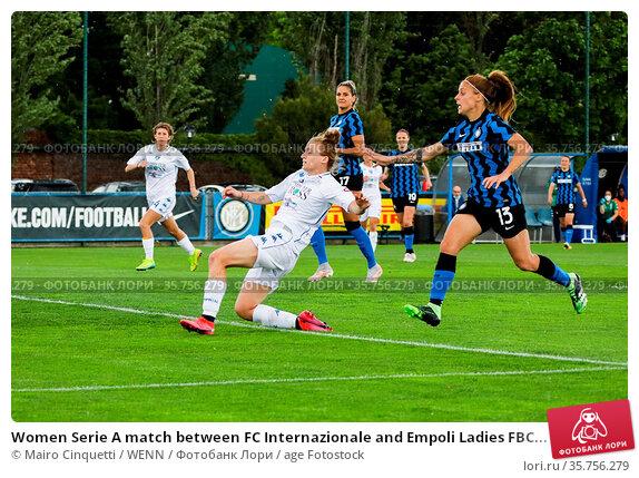 Women Serie A match between FC Internazionale and Empoli Ladies FBC... Редакционное фото, фотограф Mairo Cinquetti / WENN / age Fotostock / Фотобанк Лори