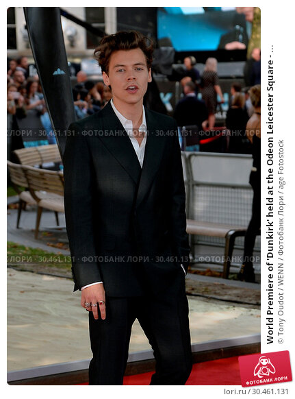 World Premiere of 'Dunkirk' held at the Odeon Leicester Square - ... (2017 год). Редакционное фото, фотограф Tony Oudot / WENN / age Fotostock / Фотобанк Лори