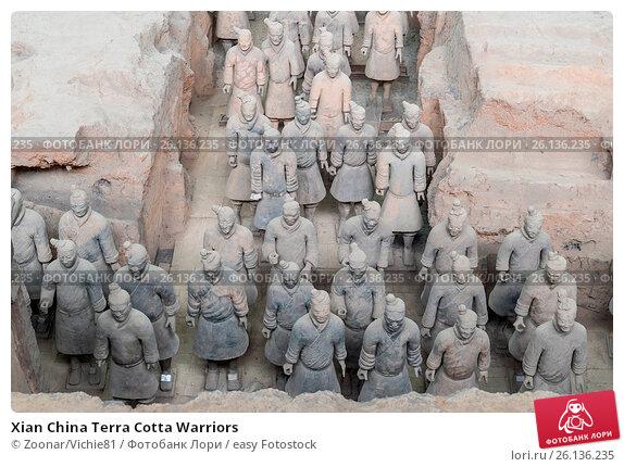 Купить «Xian China Terra Cotta Warriors», фото № 26136235, снято 22 апреля 2019 г. (c) easy Fotostock / Фотобанк Лори