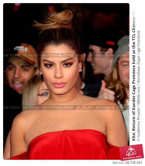 Купить «XXx: Return of Xander Cage Premiere held at the TCL Chinese Theatre IMAX - Arrivals Featuring: Ariadna Gutierrez Where: Hollywood, California, United States...», фото № 28735431, снято 19 января 2017 г. (c) age Fotostock / Фотобанк Лори
