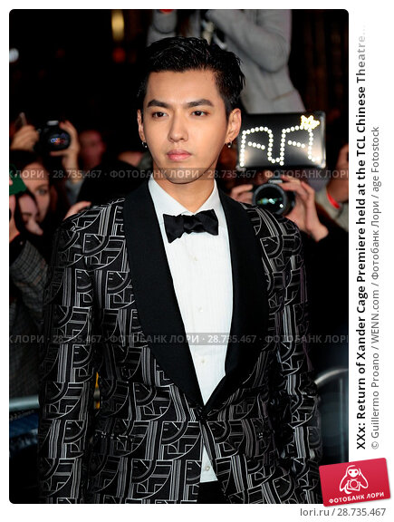 Купить «XXx: Return of Xander Cage Premiere held at the TCL Chinese Theatre IMAX - Arrivals Featuring: Kris Wu Where: Hollywood, California, United States When: 19 Jan 2017 Credit: Guillermo Proano/WENN.com», фото № 28735467, снято 19 января 2017 г. (c) age Fotostock / Фотобанк Лори