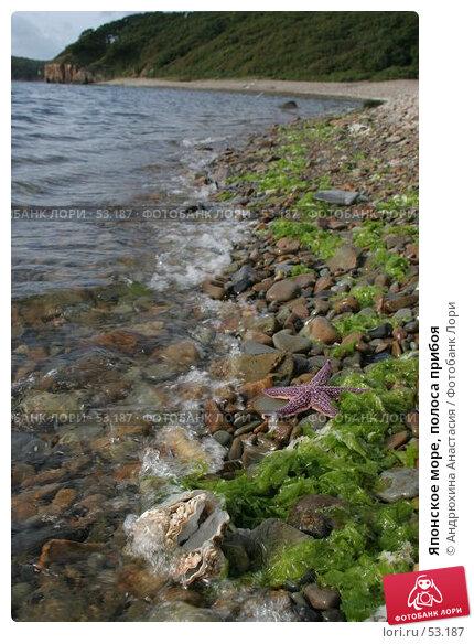 Японское море, полоса прибоя, фото № 53187, снято 16 сентября 2005 г. (c) Андрюхина Анастасия / Фотобанк Лори